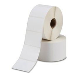 Zebra Z-Perform 1000D (800284-605) compatibili, Eco, 102mm x 152mm, 475 etichette, 25mm diametro, bianco, permanente