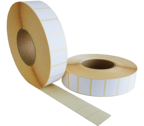 Zebra Z-Perform 1000D (3006307-T) compatibili, Eco, 57mm x 32mm, 4470 etichette, 76mm diametro, bianco, permanente