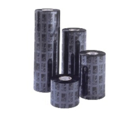 Nastro (ribbon) termico, 2300, cera, 83mm x 450m, nero (in scatole da 12 rotoli)